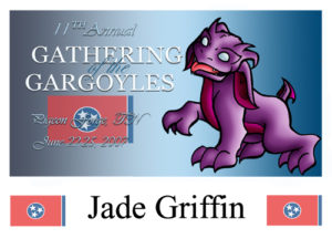 Gathering of the Gargoyles Convention Badge