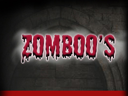 Zomboo's House of Horror Movies Logo